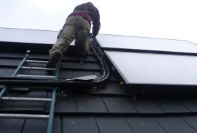 Duurzame energie, zonneboiler